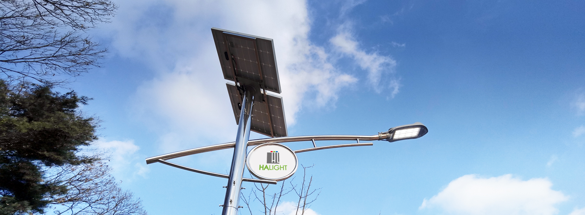 Solar  LED streel lighting system